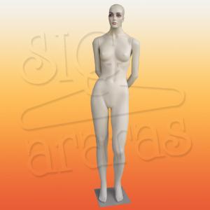 4004 manequim feminino pouse braço para trás st