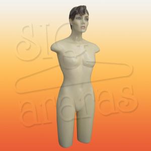 4025 meio corpo feminino com cabeça af13