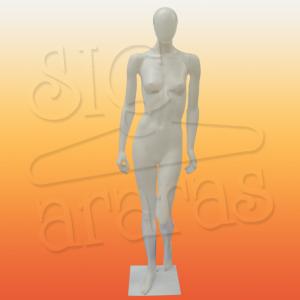 4311 manequim feminino gisele reta branca