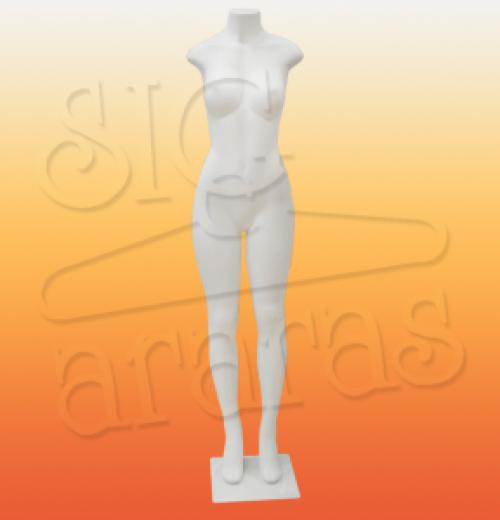 4318 funilado feminino com bustos grande branca