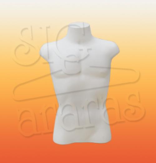 4415 busto masculino branco