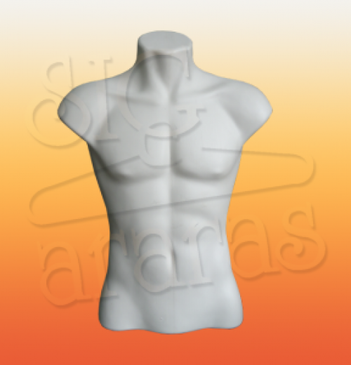 4416 busto masculino branco n°2