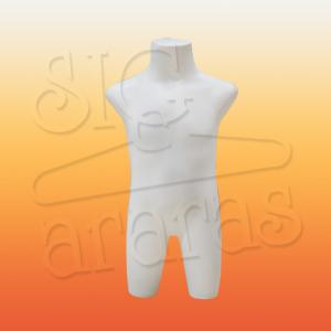 4512 busto bebê branco