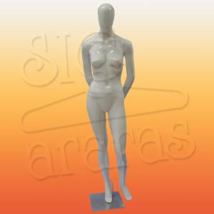 4603 manequim feminino especial com brilho pouse braço para trás
