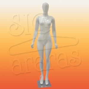 4604 manequim feminino especial com brilho reta tiazinha