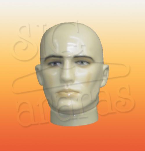 4809 cabeça masculina careca