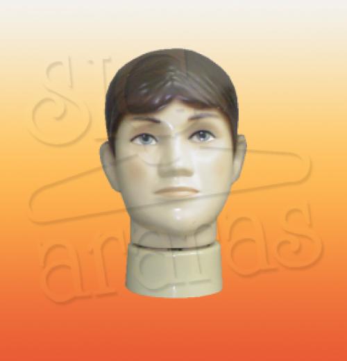 4810 cabeça juvenil masculina