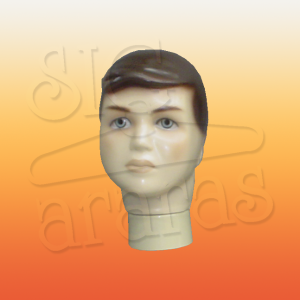 4812 cabeça infantil masculina