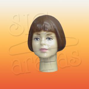 4813 cabeça infantil feminina