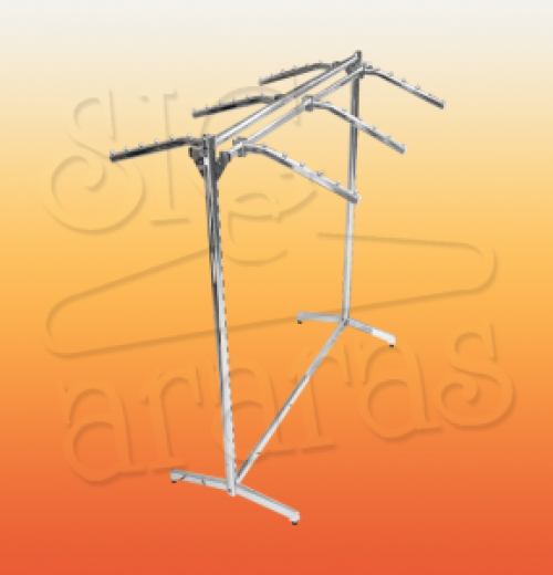 6053 gondola max com 6 RT cromada L 120xA140