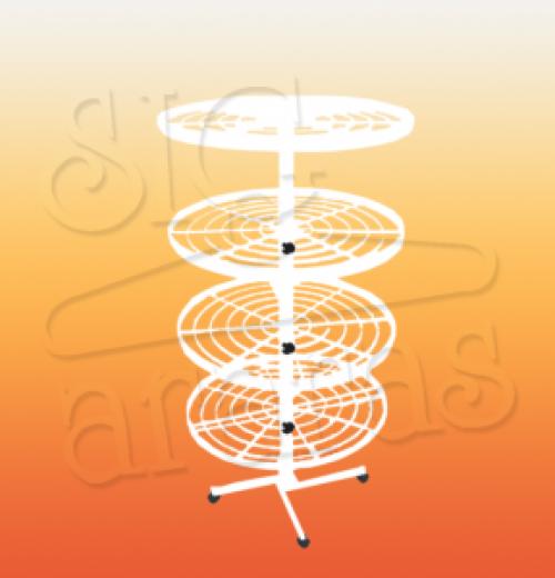 6065 sapateira redonda tubular