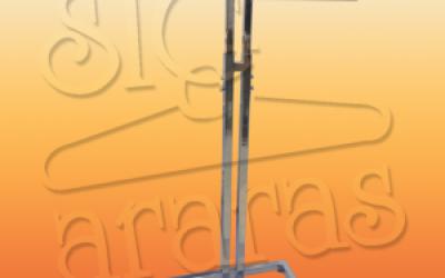 6074 arara T 2 braços cromada