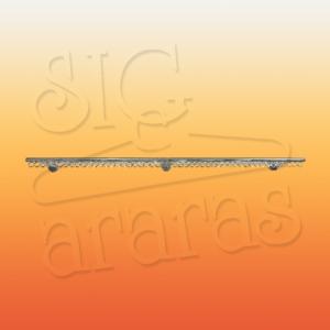 6225 arara parede renova linear de 200 cromada