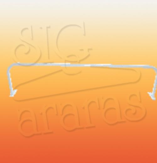 6239 arara parede U simples 100 120 e 150cm
