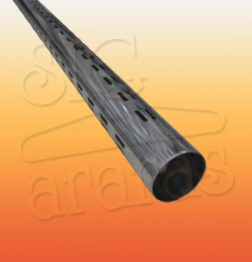 6301 cremalheira tubo V60 tamanhos 150cm 195cm e 213cm