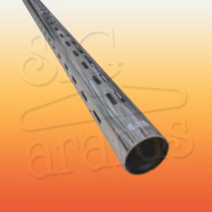 6302 cremalheira tubo V50 tamanhos 150cm 195cm e 213cm
