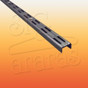 6310 cremalheira dupla 12mm 200cm cromada