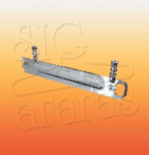 6410 suport 30 barra e cremalheira meio slot com prolongador