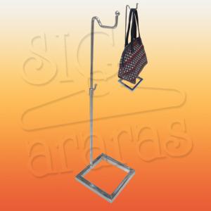 6501 suporte bolsa base quadrada