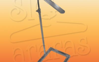6504 suporte calçado base quadrada regulável