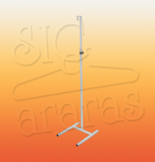 6544 pedestal regulável simples