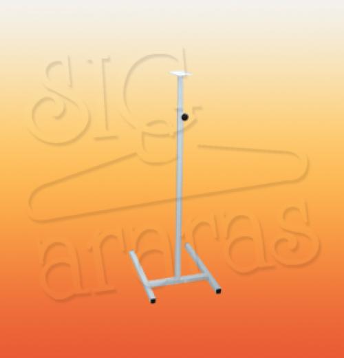 6545 pedestal regulável para busto costureira