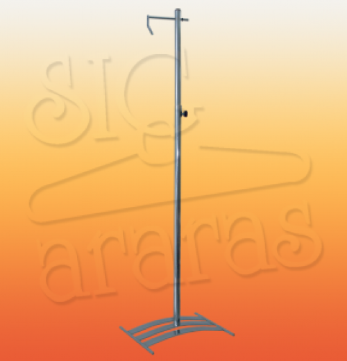 6546 pedestal reguláve ponte 3 cromado