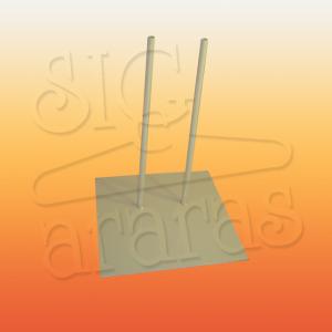 6620 base 2 pinos simples para manequim