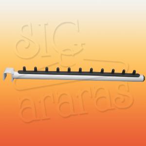 6624 rt reto com regua plastica para regua simples branco