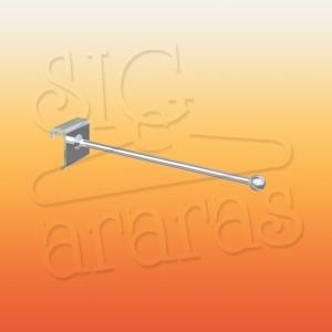 6813 gancho com esfera para barra 10x30 PP tamanhos 05 10 15 e 20cm