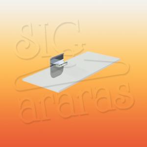 6911 suporte acrílico linha horizontal