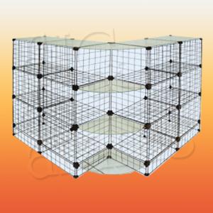 7587 balcão em L aramado base ve vidro L.110 x L.110 xA.100cm 300x300