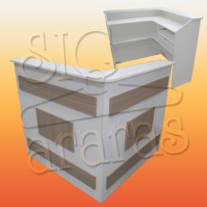 7607 balcão caixa L L.120x120 x A. 110cm 300x300