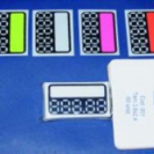 8001 COD 001 Amarelo Branco Pink Laranja 38 x 24 50un pct