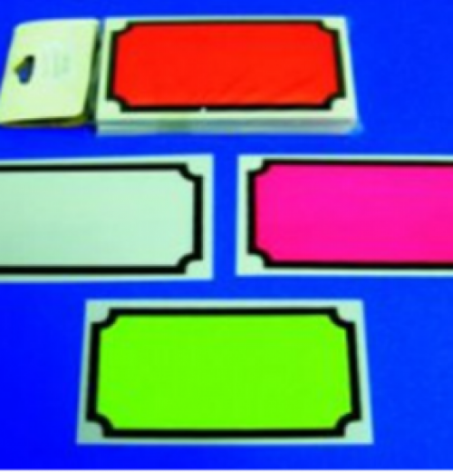 8012 COD 012 Amarelo Branco Laranja Pink 95 x 60 50un pct