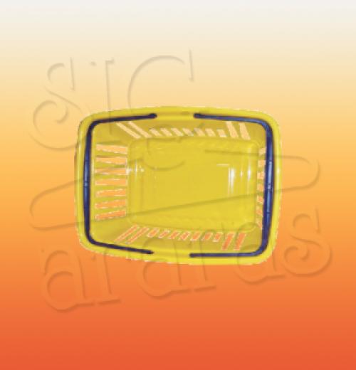 8075 cesto plastico com alca F40 P30 A21CM